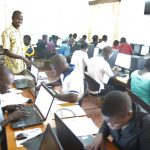 Training youth in ICT at Aruabits centre